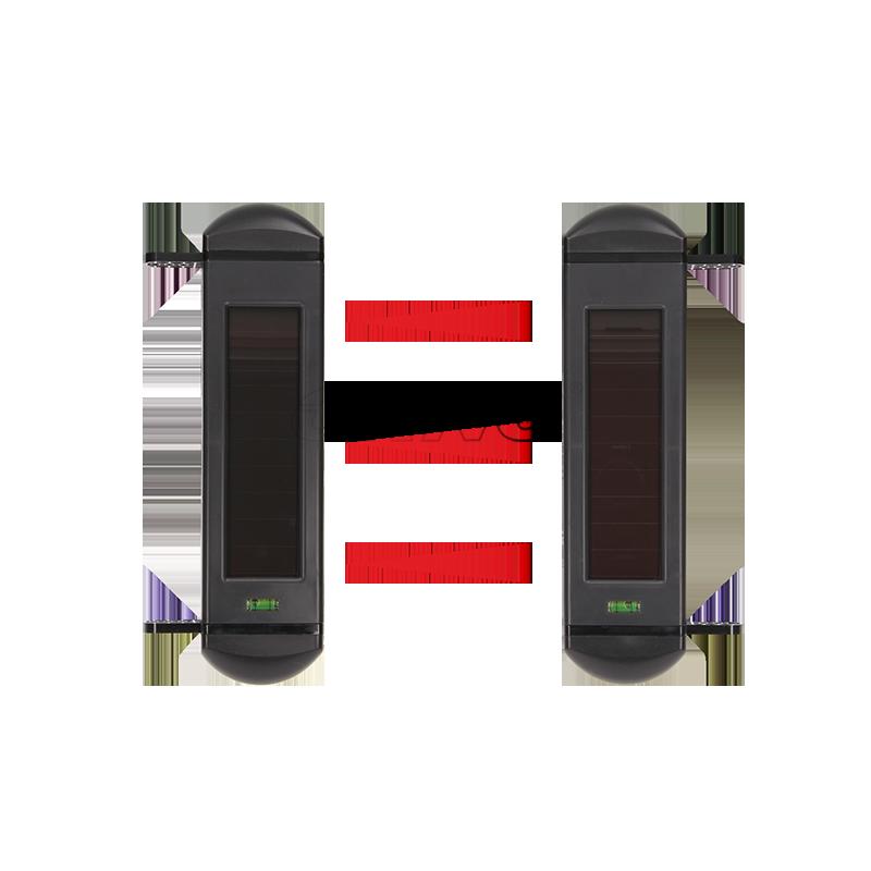 Infrasarkanā barjēra ar saules bateriju