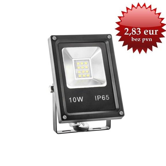 2,83 EUR Led prožektors 10W IP65 CW 700 lm 6500K